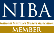 NIBA Member Decal 16mm NO QUILL